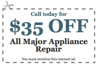 katy appliance repair service coupon