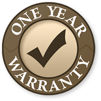 one year warranty for washer and dryer repair services